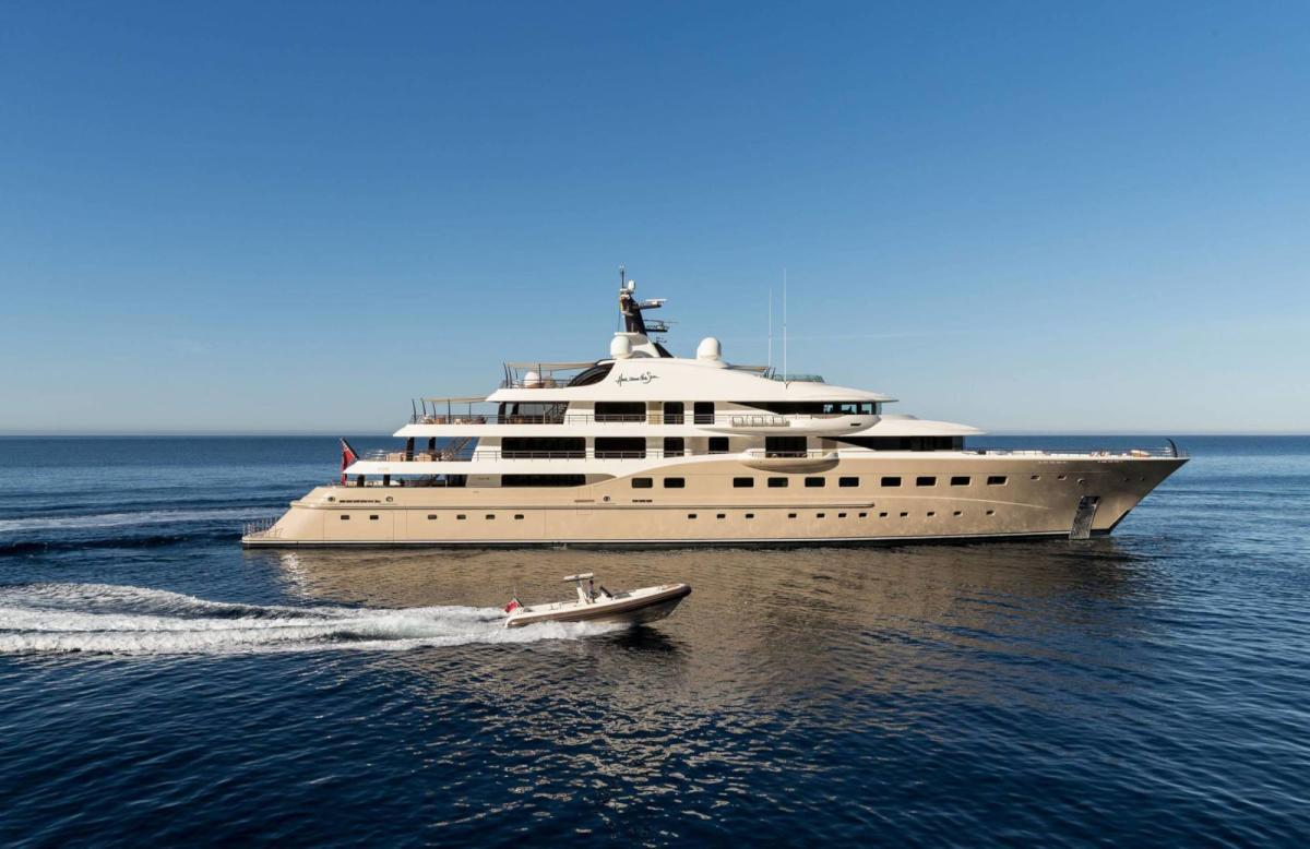 83m Limited Editions 272 Superyacht Yacht Charter Details Amels CHARTERWORLD Luxury Superyachts