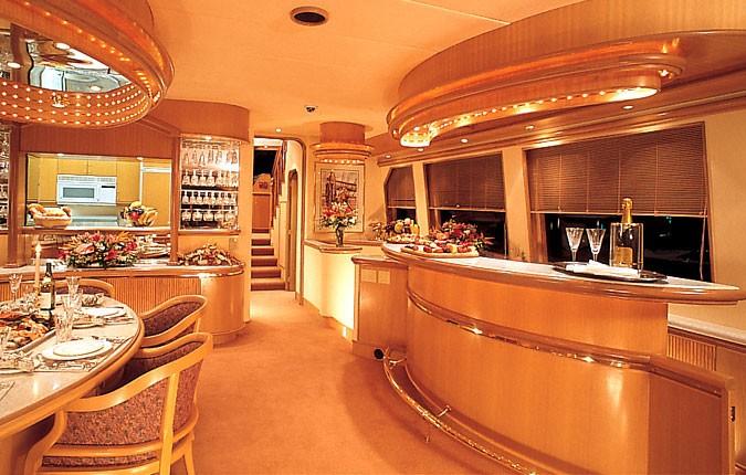 Yacht AUDRA ANNE Queenship Marine Industries CHARTERWORLD Luxury Superyacht Charters