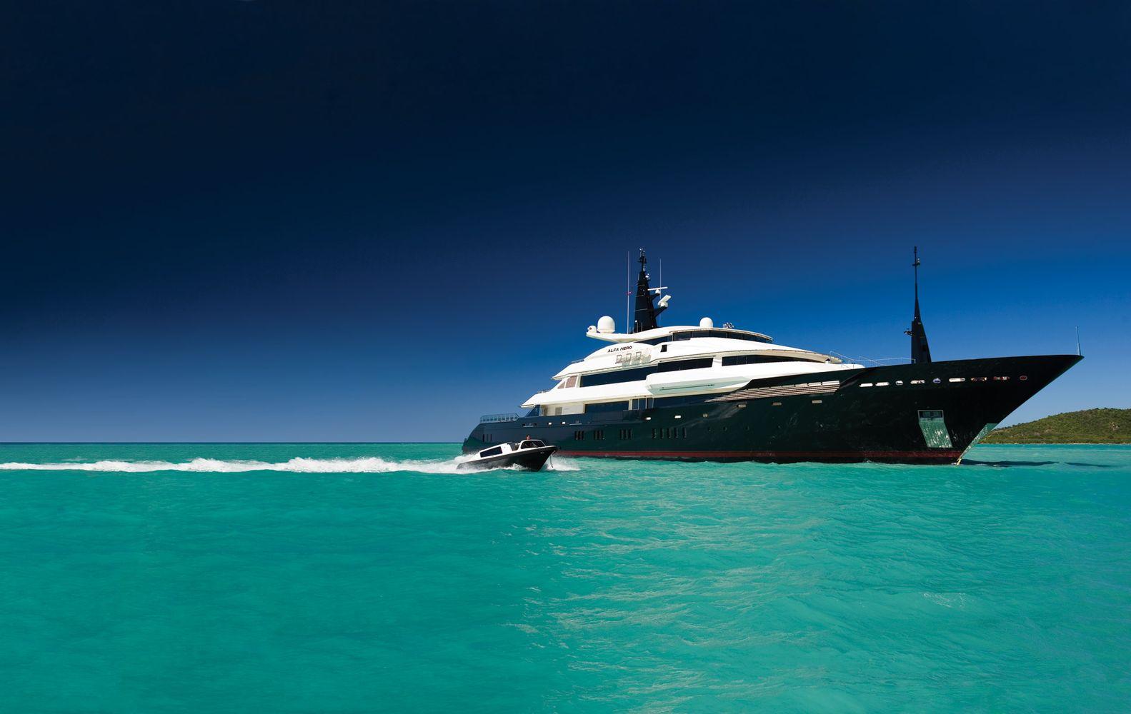 Online Yacht Booking ALFA NERO Oceanco CHARTERWORLD