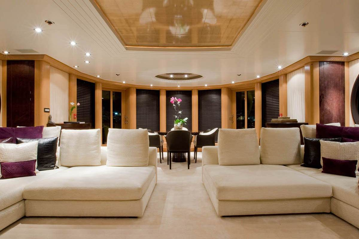 Lounge Image Gallery  Luxury Yacht Browser  by