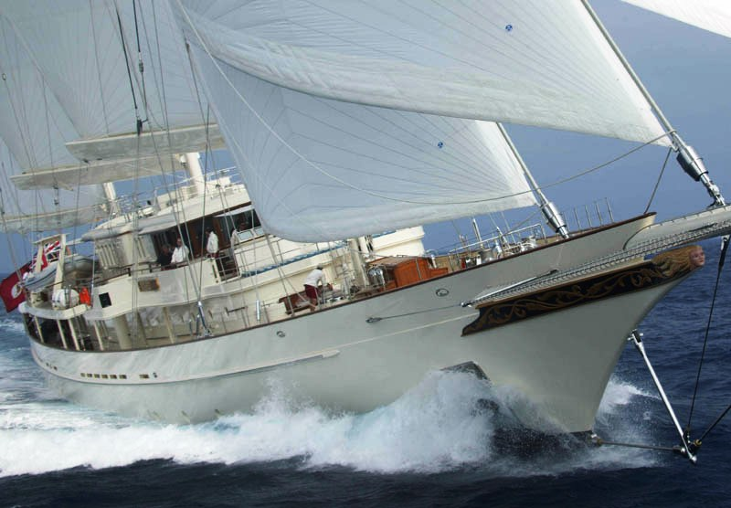 Sailing Yacht ATHENA A Gentlemans Superyacht