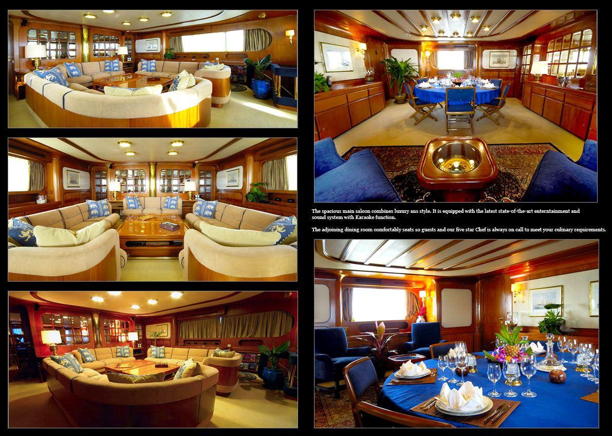 BLUE GOLD Yacht Charter Details Benetti CHARTERWORLD