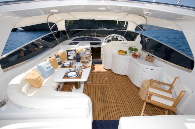 GRG Rizzardi Power Boat Yacht Charter Details Italy
