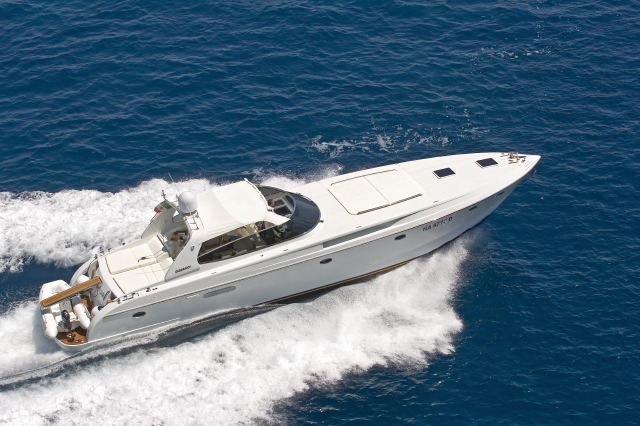 GRG Rizzardi Power Boat Yacht Charter Details Italy