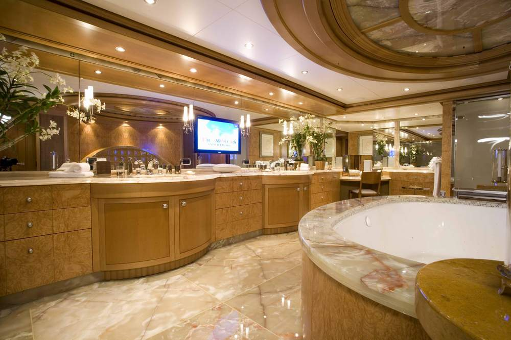 Ensuite Image Gallery  Luxury Yacht Gallery Browser