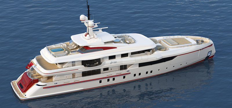 Motor Yacht FOREVER ONE Project Panorama An ISA Superyacht