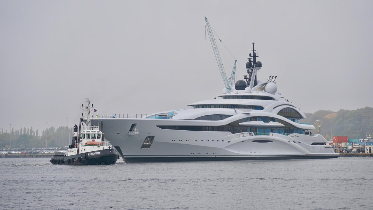 Yacht JUPITER A Lurssen Superyacht CHARTERWORLD Luxury
