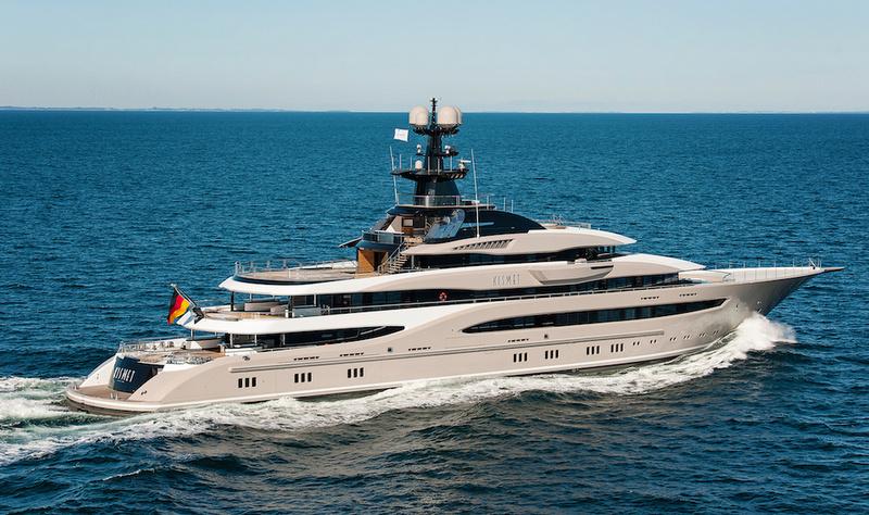Motor Yacht KISMET Project GLOBAL A Lurssen Superyacht