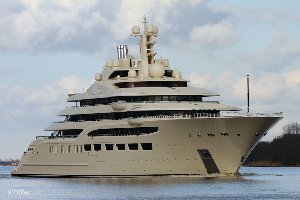 Yacht DILBAR A Lurssen Superyacht CHARTERWORLD Luxury