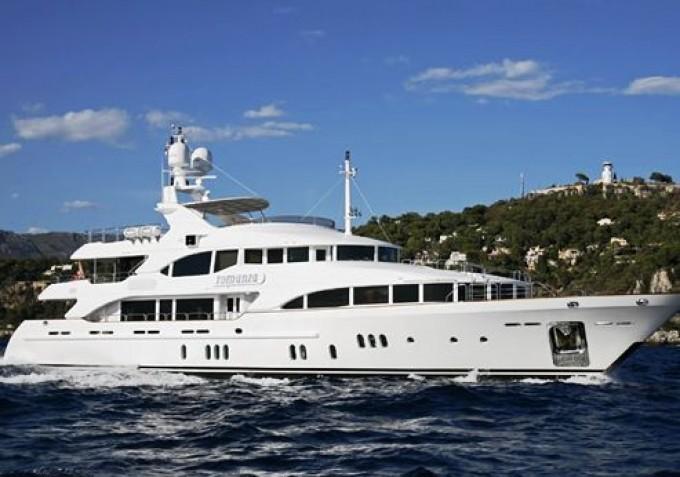 Yacht ZITA Benetti Yacht CHARTERWORLD Luxury Superyacht