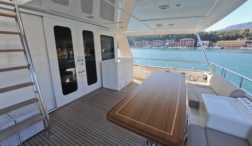 Yacht 76 Aleutian RP A Grand Banks Yacht CHARTERWORLD