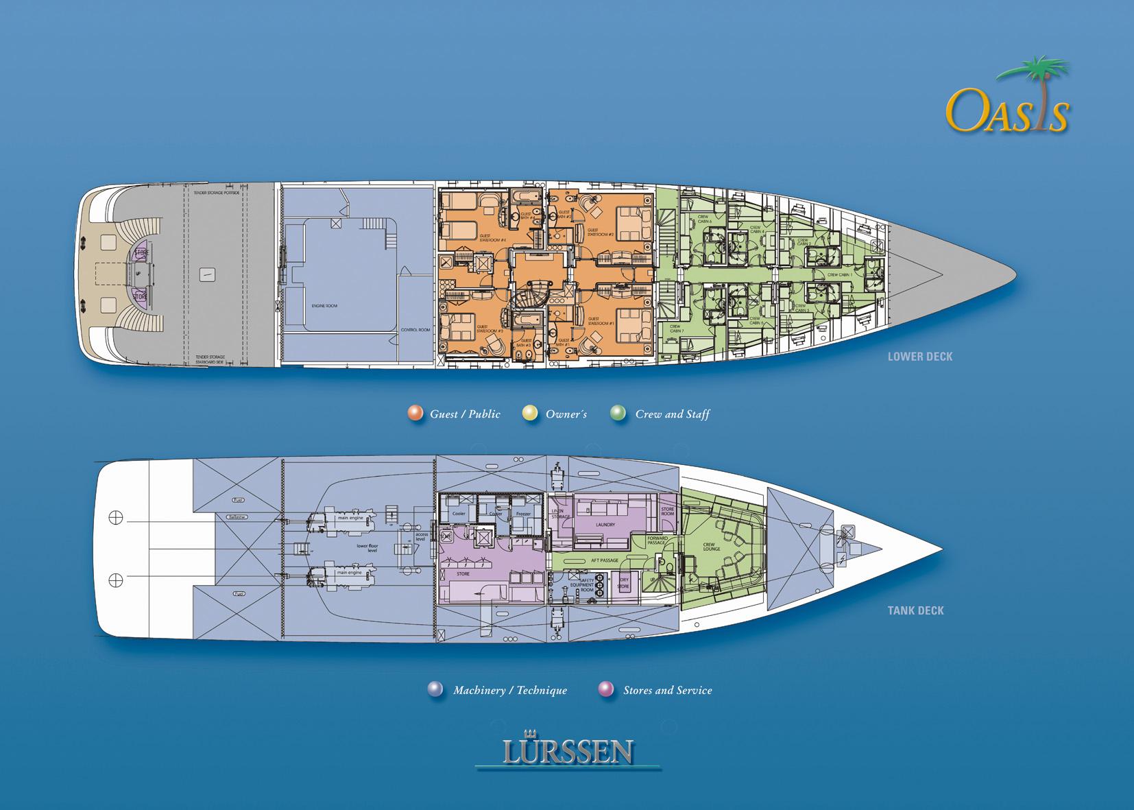 Yacht OASIS Lurssen Luxury Superyacht