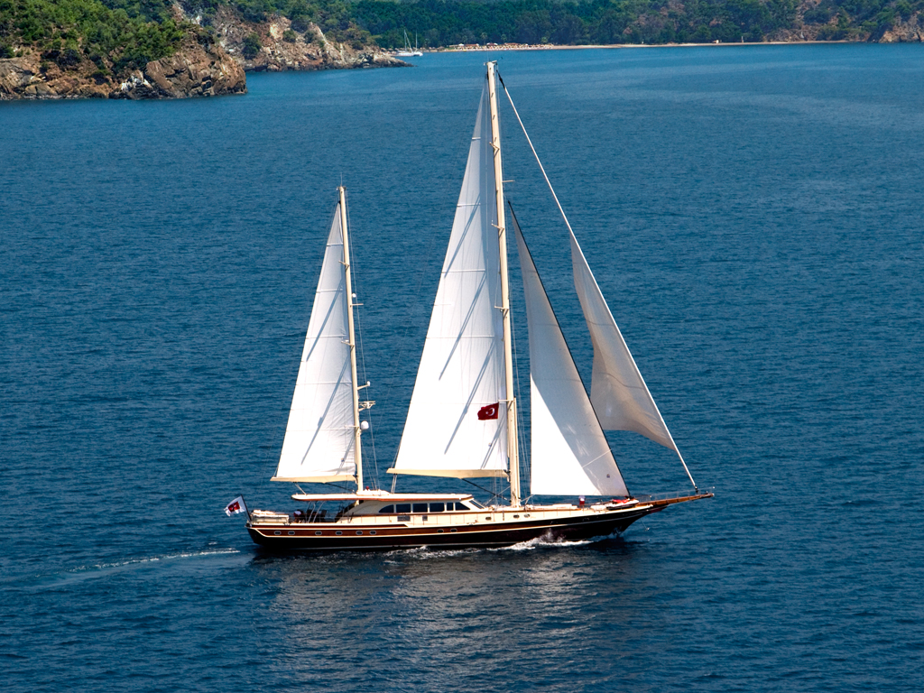 Sailing Yacht DAIMA At Sail 1 Luxury Yacht Browser