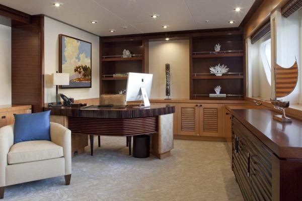 Private Luxury Home Office Design