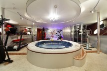 Luxury Home Gym and Spa