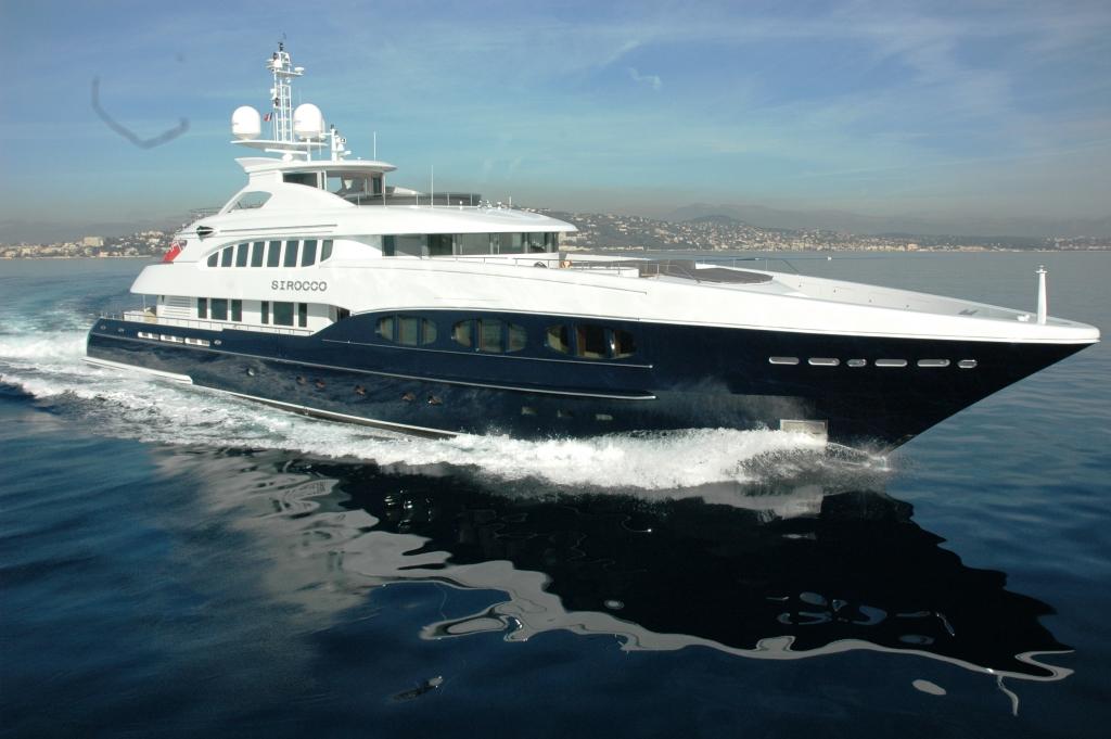 SIROCCO Yacht Charter Details Heesen CHARTERWORLD