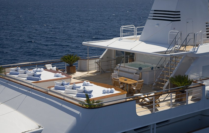 Motor Yacht Titan Mediterranean Crewed Yacht Charter