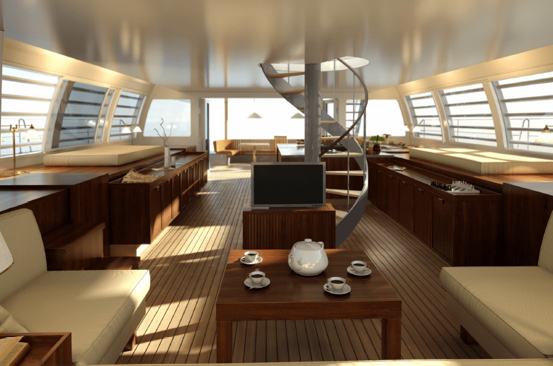 Noah 76 Catamaran Interior Image Courtesy Of Alu Marine Yacht Charter Amp Superyacht News