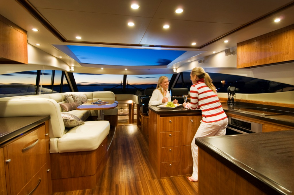 The Single Level Living And Functional Galley Is A Feature