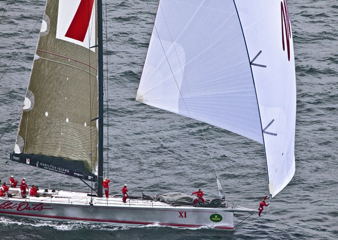 Cabbage Tree Island Race Sailing Yacht Wild Oats XI