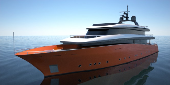 Motor yacht Leviathan by 2pixel studio & Navtec Marine