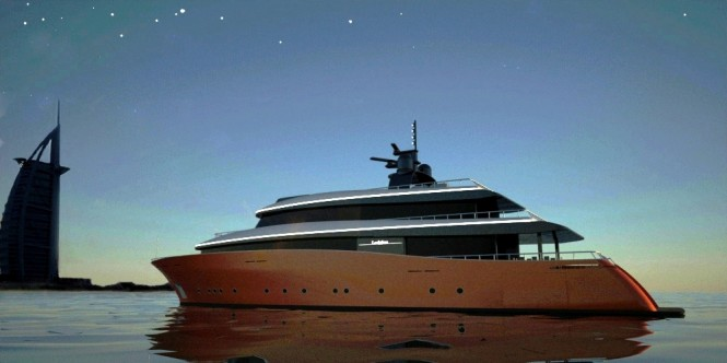 Superyacht Leviathan by 2pixel studio & Navtec Marine