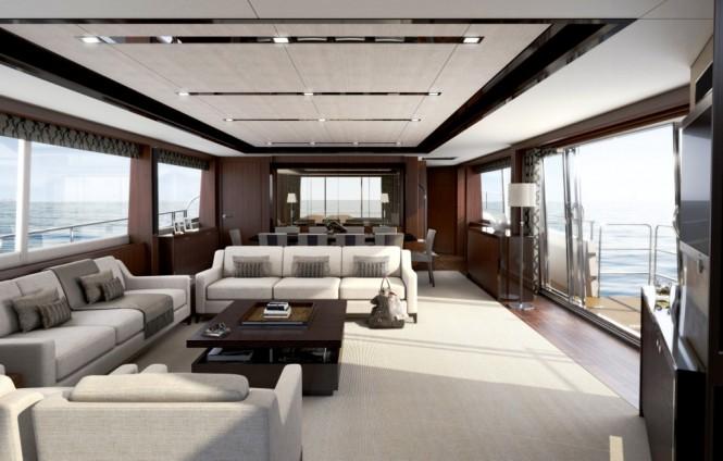 Princess Yachts 32m M Class Motor Yacht Breaks Records At