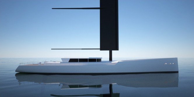 40m Sailing Yacht DY 40 by 2Pixel Studio Yacht Design