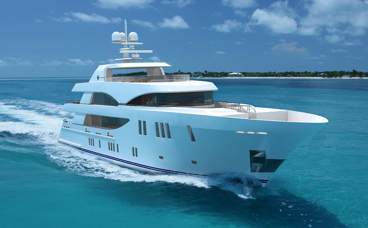 The 155 Tri Level Superyacht From Ocean Alexander Yacht Charter Amp Superyacht News