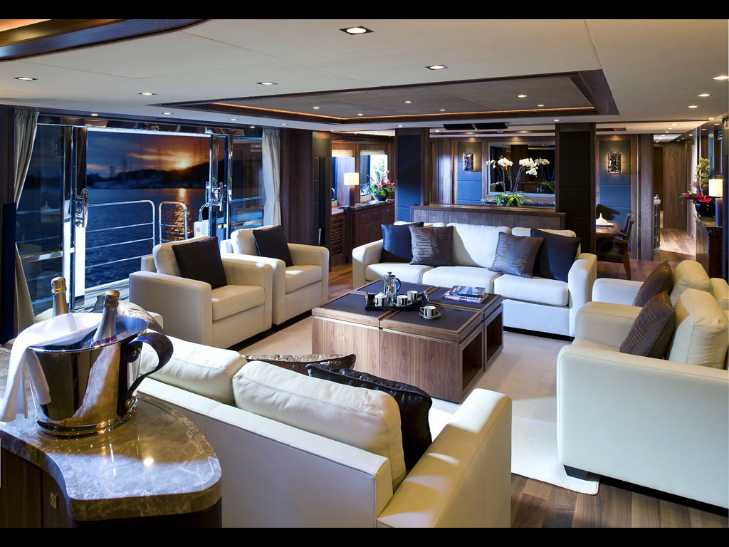 Yacht Chiqui Sister Ship Interior  Yacht Charter