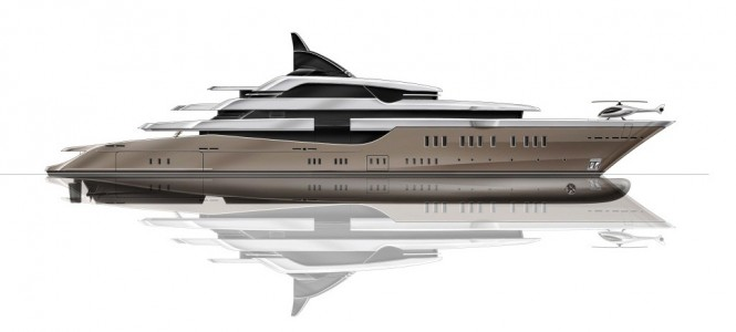 The Hot Lab designed PA186 Oceanco superyacht concept
