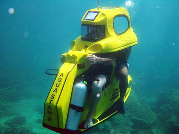 Aqua Star AS2 Underwater Dive Scooters Yacht Charter