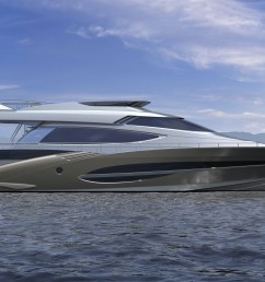72 motor yacht by joachim kinder design to premiere at the dubai boat show 2012 yacht charter superyacht news [ 3200 x 1500 Pixel ]