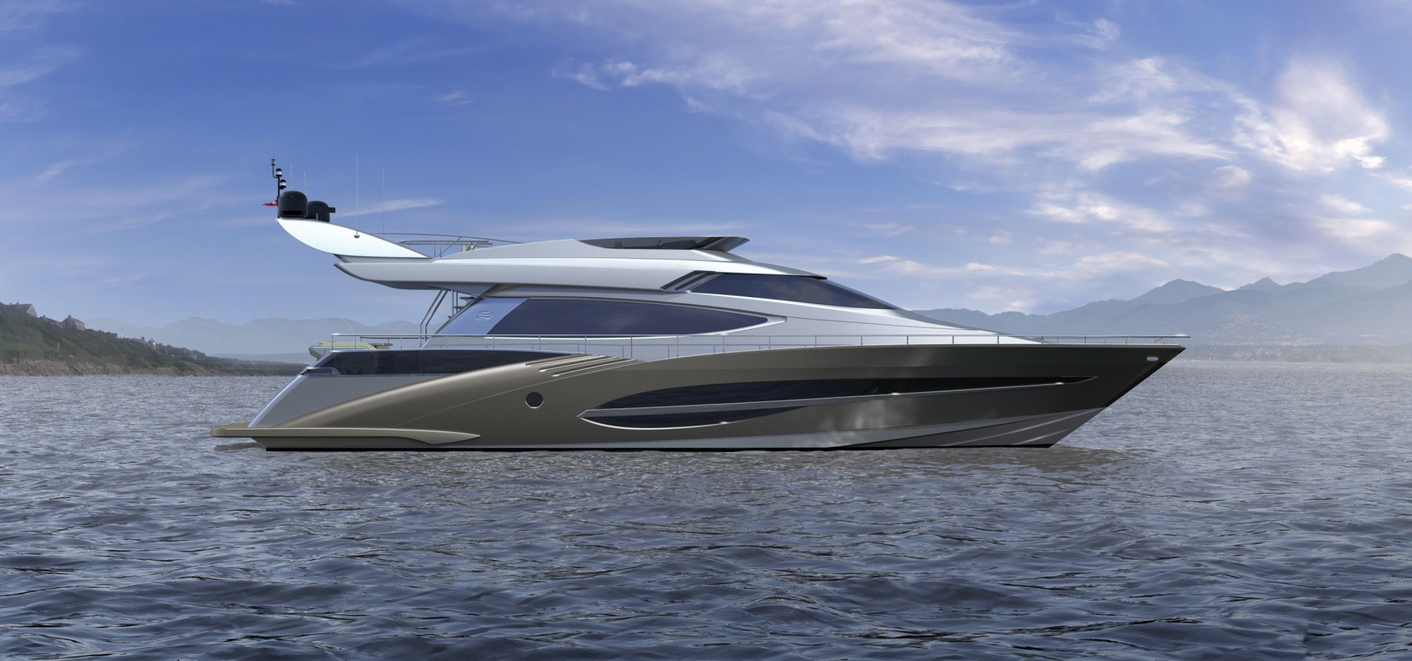 hight resolution of 72 motor yacht by joachim kinder design to premiere at the dubai boat show 2012 yacht charter superyacht news