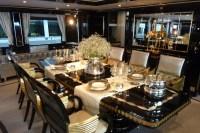 Mondo Marine yacht Alexander Again - Luxurious dining ...