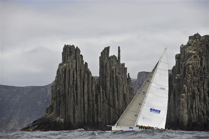 BRINDABELLA Passing Tasmanias Iconic Organ Pipes Photo K Arrigo Yacht Charter Amp Superyacht News