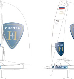 one design racing yacht rc44 credit heesen yachts and synergy [ 11720 x 7805 Pixel ]