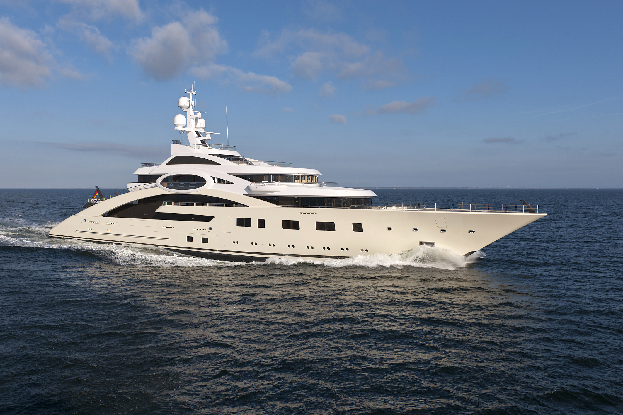 85m Luxury Motor Yacht ACE Ex Project Rocky Photo By