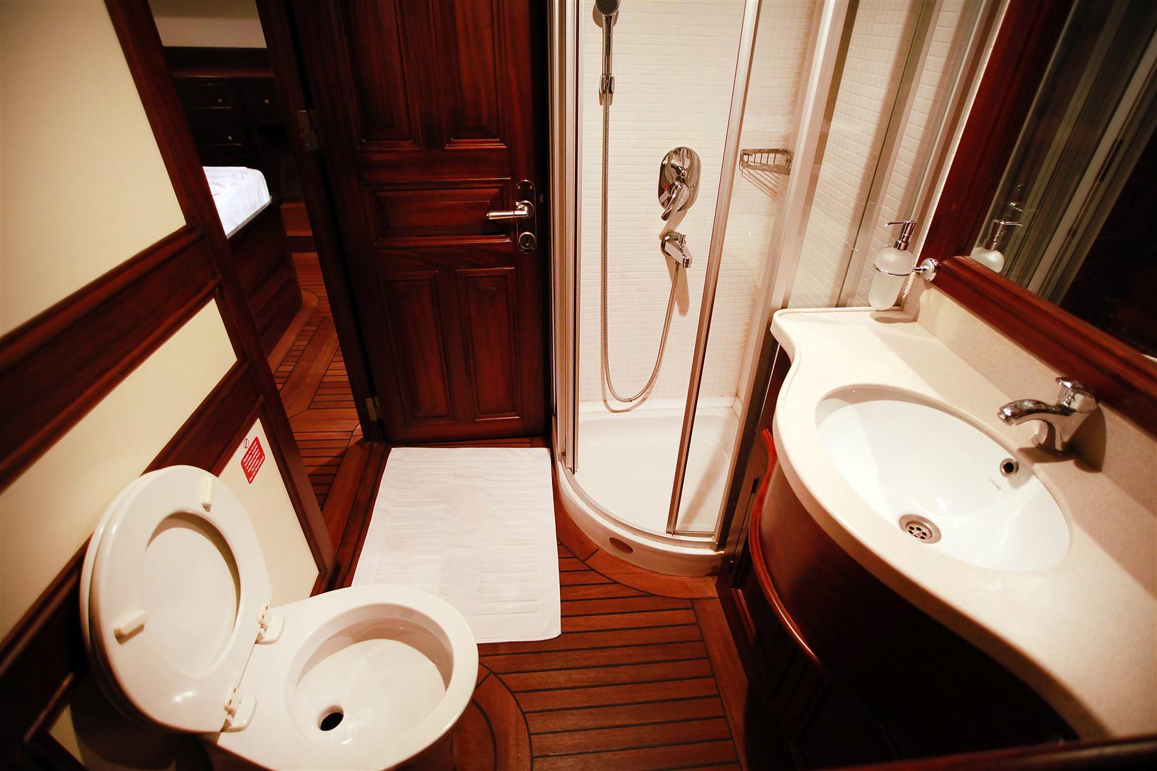 Grande Mare Gulet Bathroom Yacht Charter Amp Superyacht News