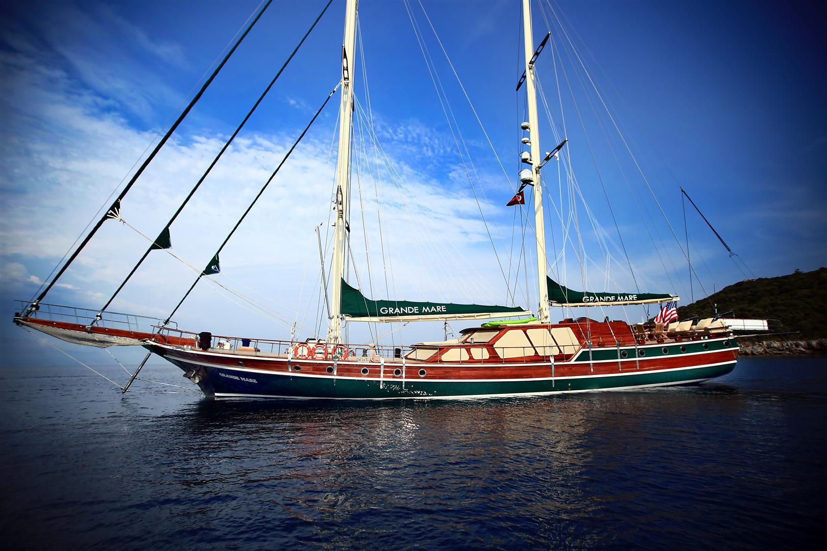 Luxury Turkish Gulet Grande Mare Yacht Charter Amp Superyacht News