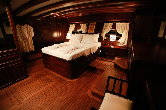 Luxury Gulet Grande Mare Interior Luxury Yacht Charter