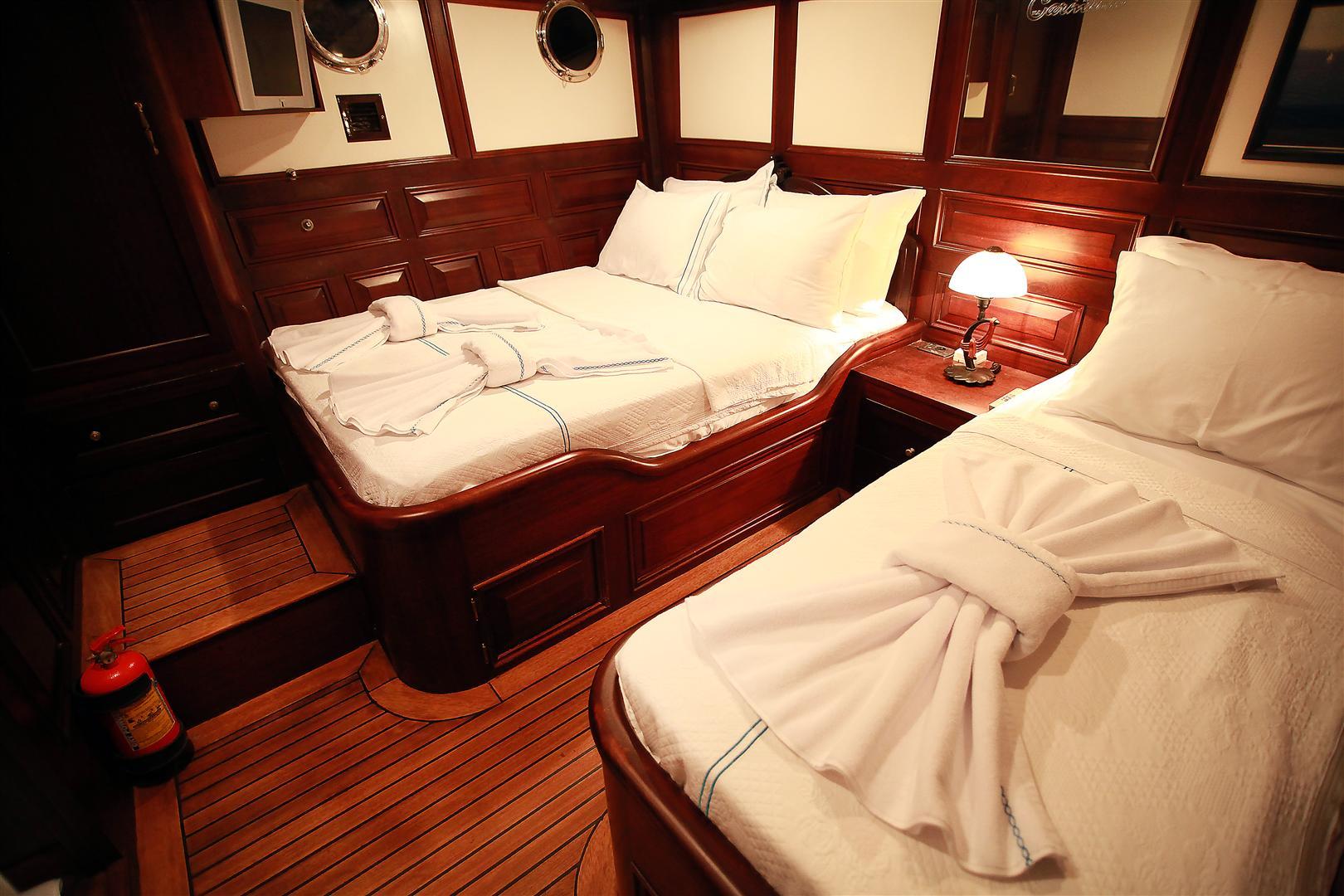 Turkish Gulet Grande Mare Accommodation Yacht Charter