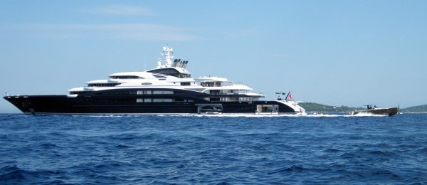 Additional photos of the 134m SERENE yacht on the French ...
