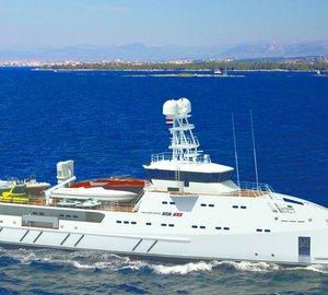 Damen Launch Second Sea Axe 6711 Fast Yacht Support Vessel
