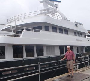 Cheoy Lee Expedition Yacht MAZU Yacht Charter