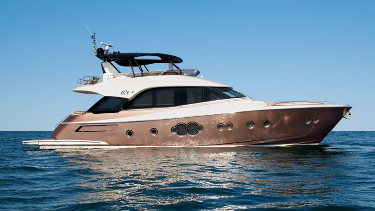 MCY 70 Yacht By Monte Carlo Yachts And Nuvolari Lenard