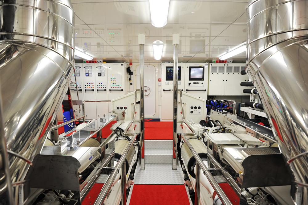A2 Yacht Engine Room Yacht Charter Amp Superyacht News