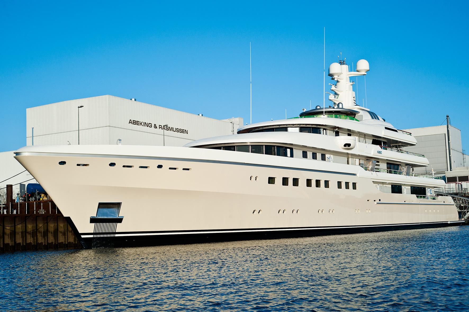 Abeking Rasmussen Superyacht KIBO Hull 6497 Luxury