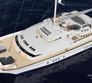 Sedlmayer Associates Introduce 52m Sailing Catamaran