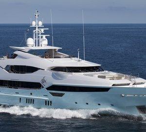 Eddie Jordan Aboard His Sunseeker 155 Luxury Yacht BLUSH